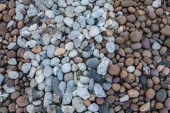 Rots en steen de achtergrond van texturenpatronen Stock Afbeeldingen