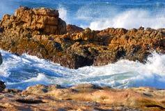 Rots in het overzees Stock Foto
