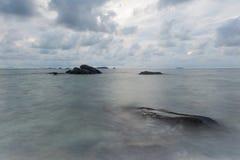 Rots in het overzees Thailand Royalty-vrije Stock Afbeeldingen
