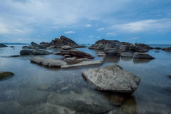 Rots in het overzees Thailand Stock Foto's