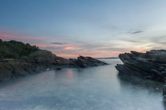 Rots in het overzees Thailand Stock Foto