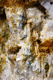 Rots met metaaldeeltjes Stock Afbeeldingen