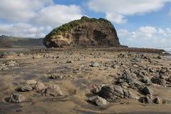 Rots op een strand Royalty-vrije Stock Foto