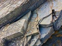 Rots, steentextuur stock foto's