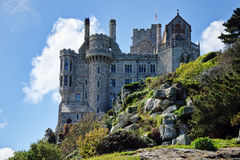 Rots Stevige ~ St Michaels Mount Stock Foto's