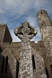 Rots van Cashel, Ierland Stock Afbeeldingen