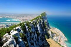 Rots van Gibraltar Stock Afbeeldingen