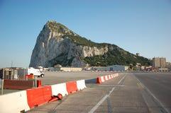 Rots van Gibraltar Royalty-vrije Stock Afbeeldingen