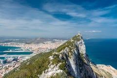 Rots van Gibraltar Stock Afbeelding