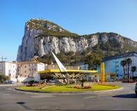 Rots van Gibraltar Royalty-vrije Stock Foto