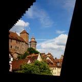 Rots van Nuremberg Stock Foto's