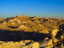 Rotsachtig landschap van Atacama-Woestijn royalty-vrije stock afbeelding