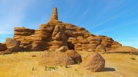 Rotsachtige berg Stock Afbeelding