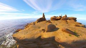Rotsachtige berg Stock Afbeeldingen