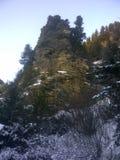 Rotsachtige berg stock foto's