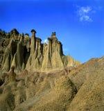 Rotsachtige heuvel Kuklica Stock Afbeeldingen
