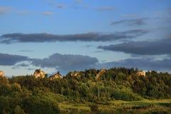 Rotsachtige heuvels Stock Foto