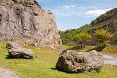Rotsachtige heuvels Stock Afbeelding