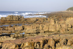 Rotsachtige kust Royalty-vrije Stock Fotografie
