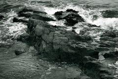Rotsachtige kust - II Stock Foto's