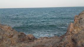 Rotsachtige kust in Spanje Stock Foto's