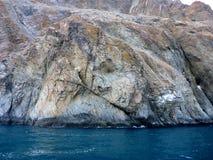 Rotsachtige kust van de Zwarte Zee royalty-vrije stock fotografie