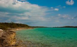 Rotsachtige kustlijn Royalty-vrije Stock Fotografie