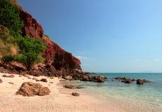 Rotsachtige kustlijn Royalty-vrije Stock Afbeelding