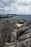Rotsachtige Oceaan Royalty-vrije Stock Foto