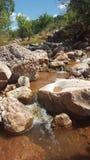 Rotsachtige rivier stock foto