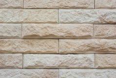 Rotsbakstenen muur Royalty-vrije Stock Fotografie