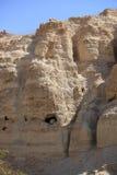 Rotsbergen in het Natuurreservaat van Ein Gedi Stock Foto's