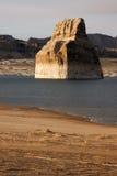Rotsbutte Vormingsmeer Powell Colorado River Utah Royalty-vrije Stock Foto