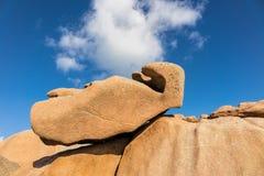 Rotsen in Bretagne Royalty-vrije Stock Foto