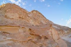 Rotsen in de Witte woestijn Stock Foto