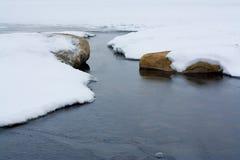 De bevroren Winter Royalty-vrije Stock Afbeeldingen
