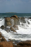 Rotsen en eiland 15 Royalty-vrije Stock Afbeelding