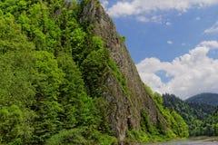 Rotsen en water in de bergen Royalty-vrije Stock Fotografie