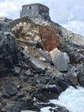 Rotsen in het Italiaans overzees Royalty-vrije Stock Afbeelding