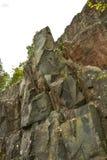 Rotsen in het rivierbed van Suna royalty-vrije stock fotografie