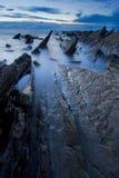 Rotsen naar het overzees Stock Afbeelding