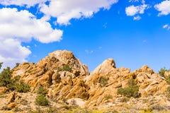 Rotsen in Nevada, de V.S. Stock Afbeeldingen