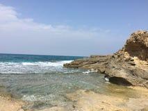Rotsen op de kust royalty-vrije stock fotografie
