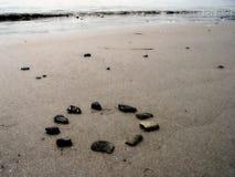Rotsen op het Strand stock foto