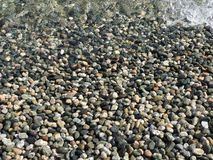 Rotsen op Victoria Island, Brits Colombia Royalty-vrije Stock Foto