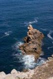 Rotsen in Pointe du Raz Royalty-vrije Stock Afbeelding