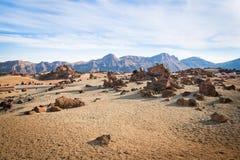 Rotsen in Tenerife Royalty-vrije Stock Fotografie