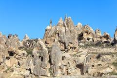 Rotsen van Capadocia Stock Afbeeldingen