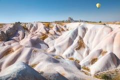 Rotsen van Cappadocia, Turkije stock afbeeldingen
