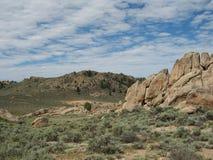 Rotsen van Gunnison Stock Afbeeldingen